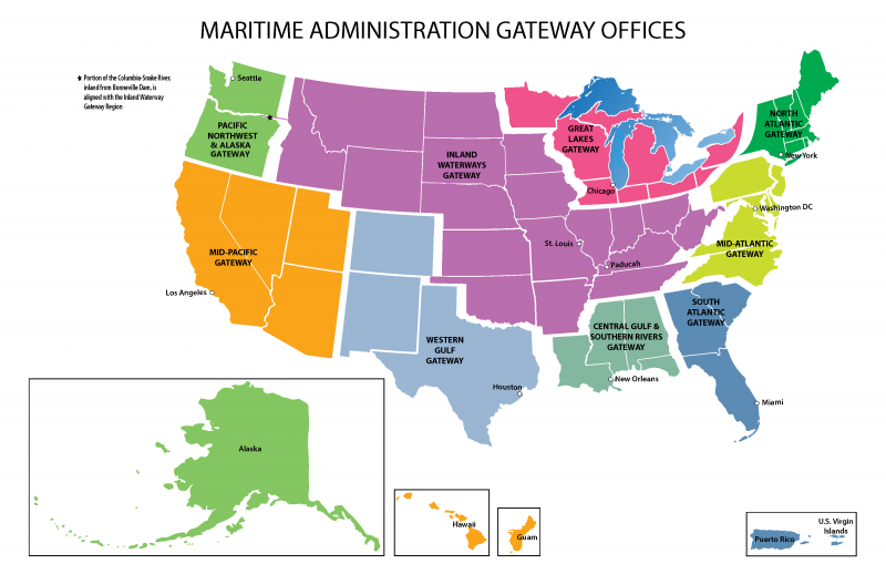 Maritime Gateway Regions Map